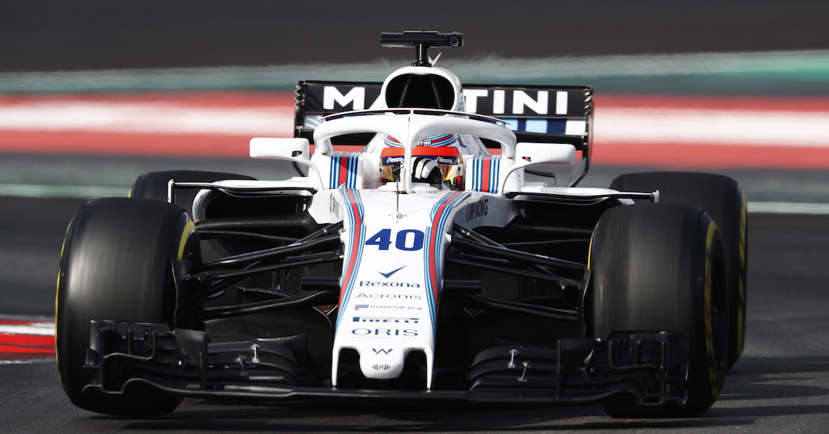 Williams FW41 Kubica