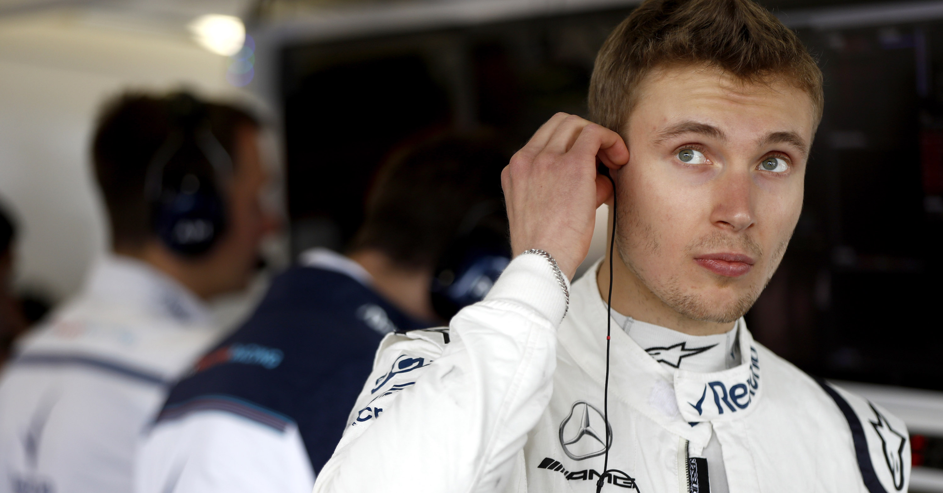 Sergey Sirotkin of Williams Racing.