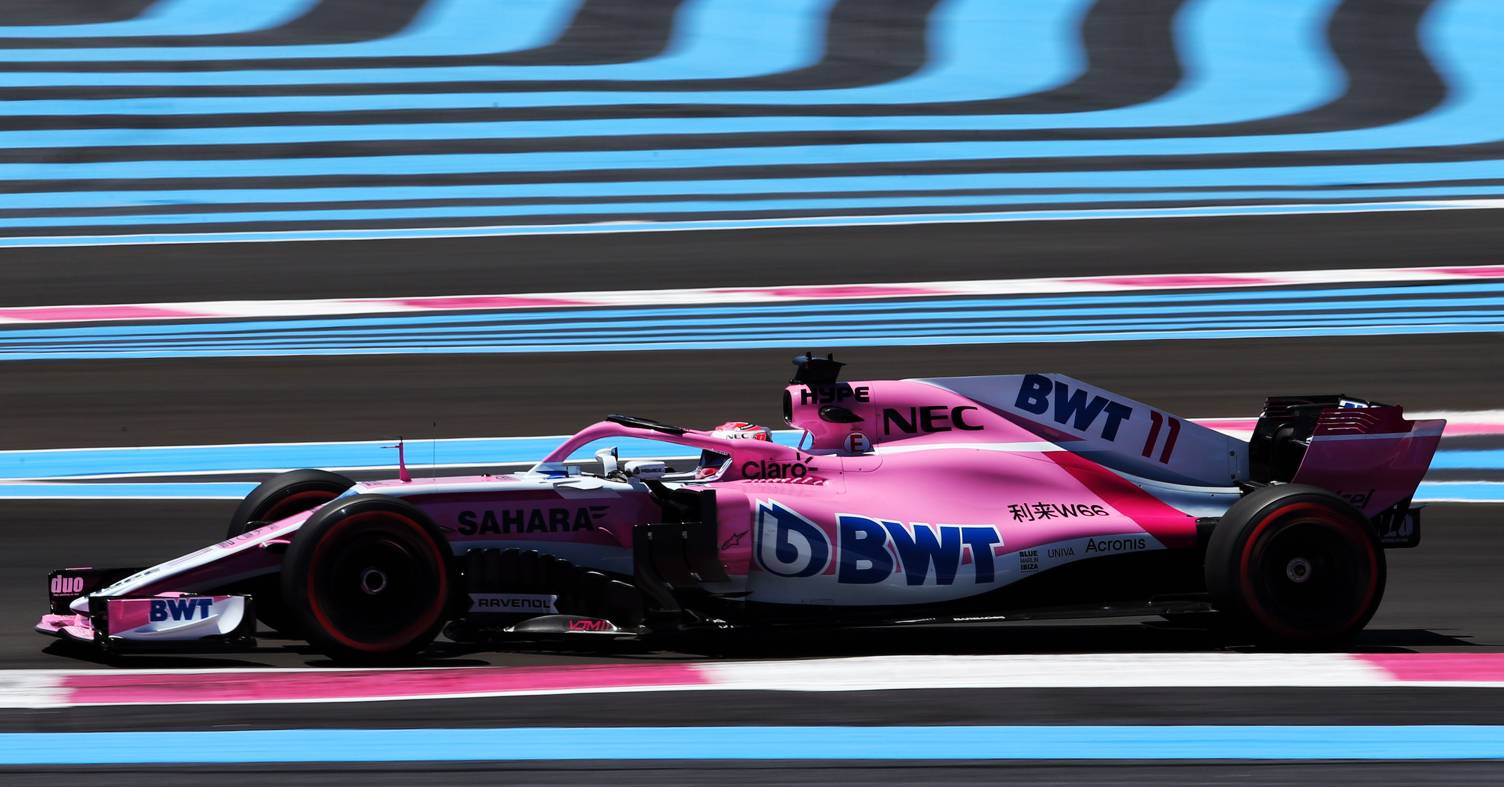 Motor Racing - Formula One World Championship - French Grand Prix - Practice Day - Paul Ricard, France