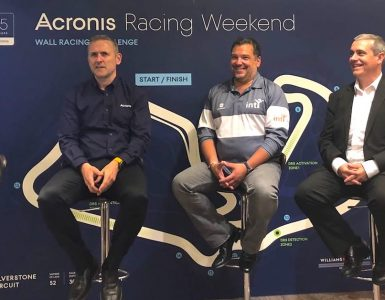 Acronis Press Conference with Williams Martini Racing