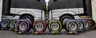 F1 Pirelli Tyre Selection