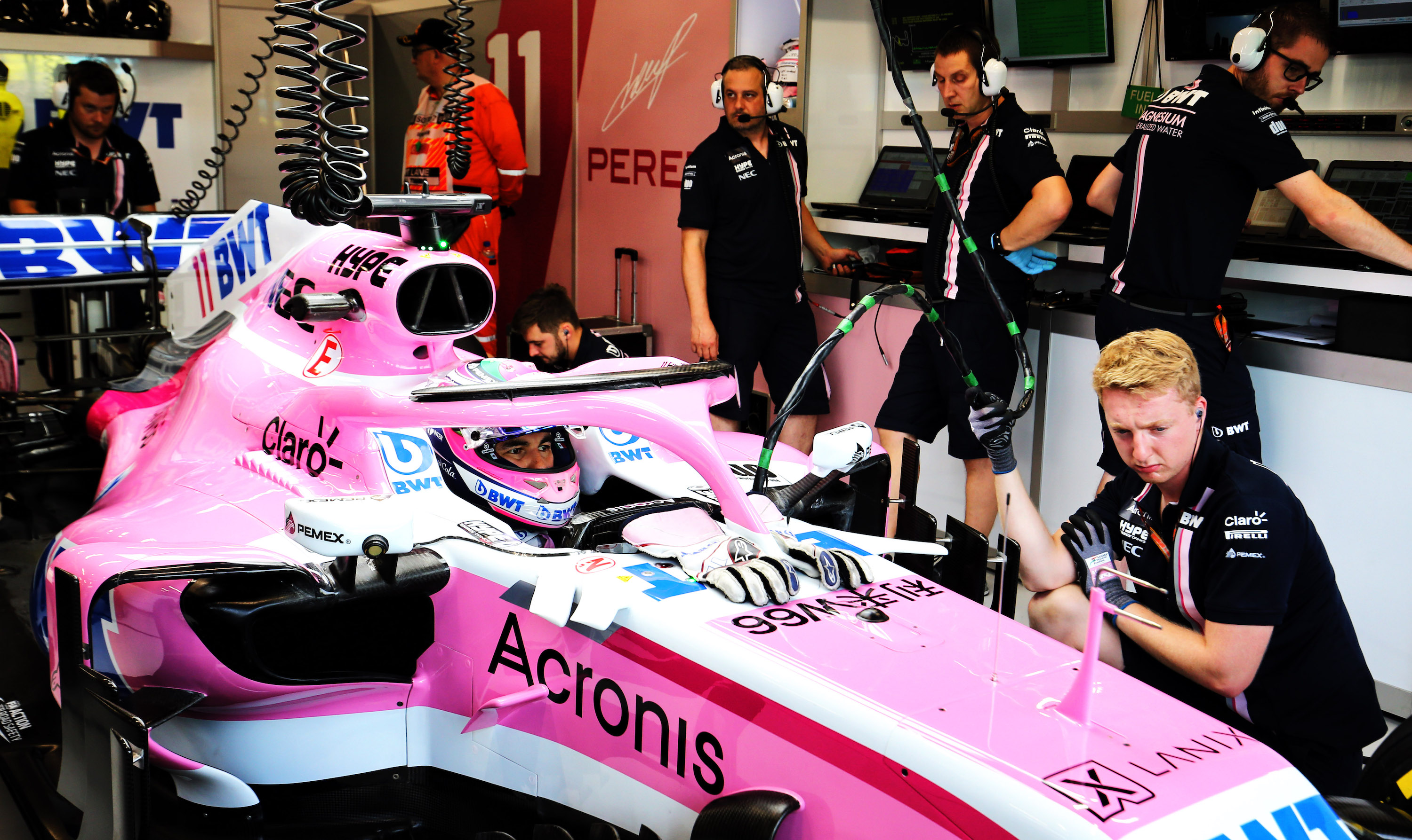 Force India F1.