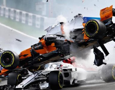 F1 spa crash 2018