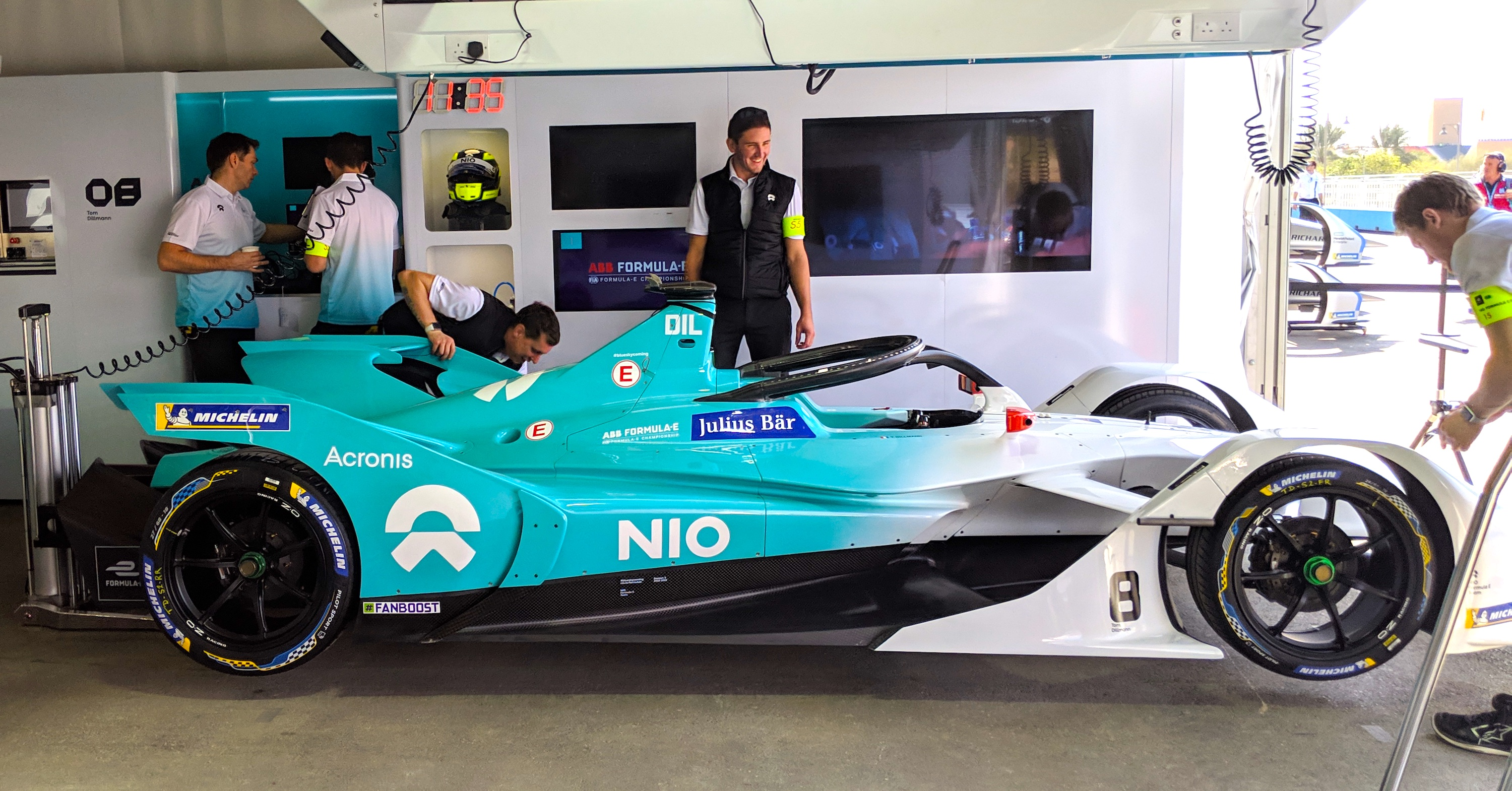 NIO Formula E Team Gen2 Car