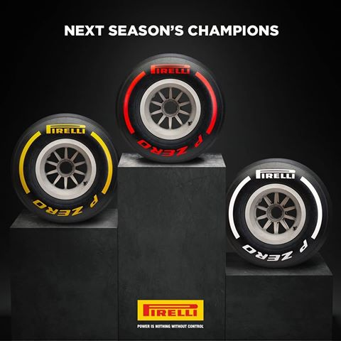 Three Colours And Five Compounds 2019 F1 Tyre Range Motorsport Technology