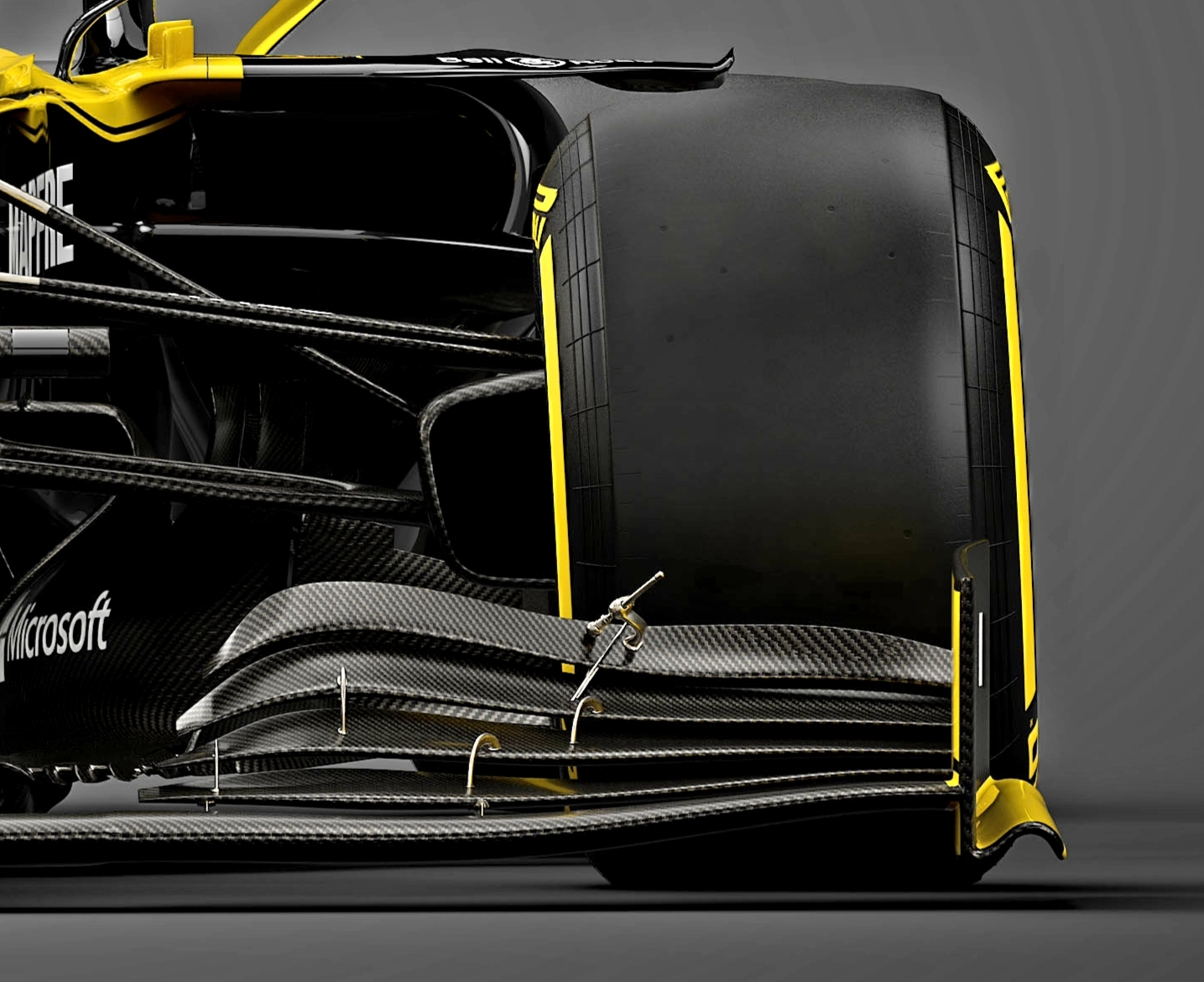 RS19 Front Wing