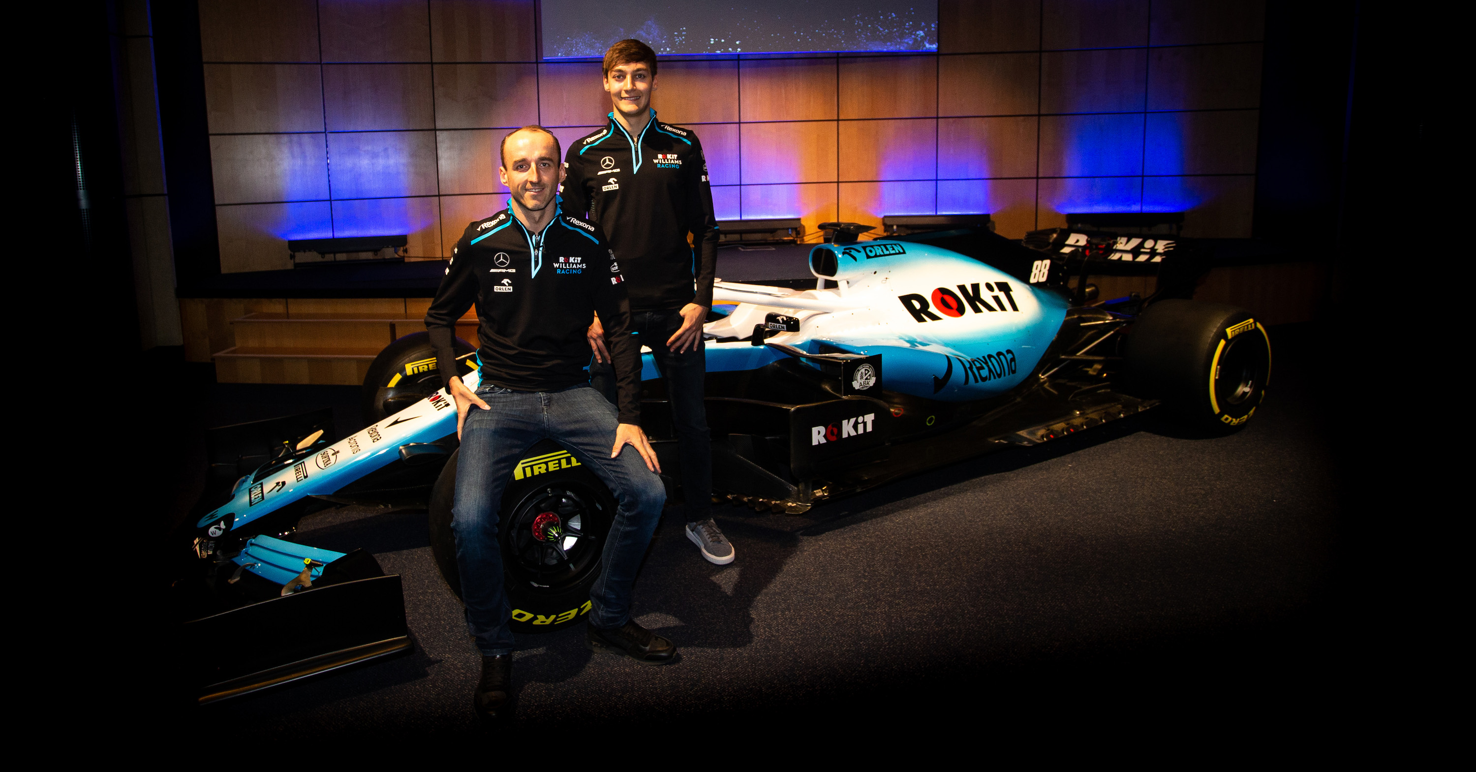Motor Racing - Williams Racing Livery Unveil - Grove, England
