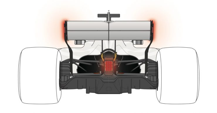 2019 F1 Car Tail Lights