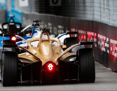 Jean-Eric Vergne during the Rome e-Prix